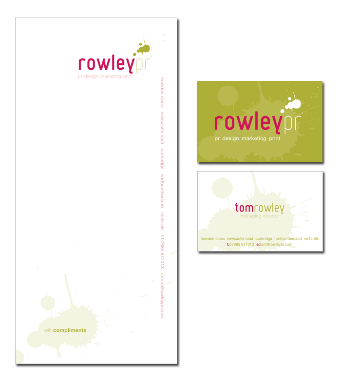Rowley PR Stationary Set