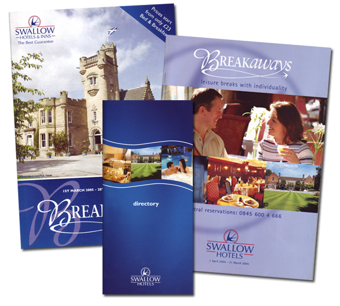 Swallow Hotels Brochures